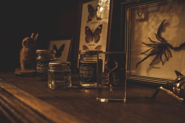 Interieur Moonshine Tattoo Parlour