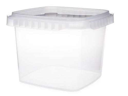 Small Square Plastic Container