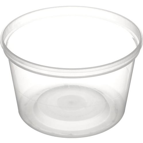 Clear Plastic Container w/out Lid