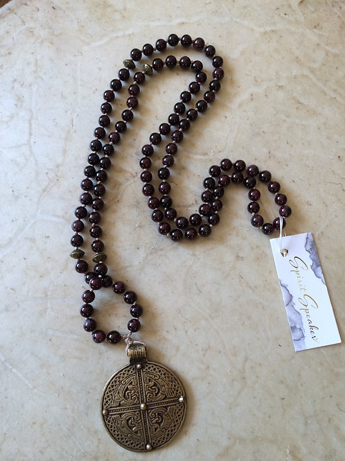 Head Heavenward w/ Feet Planted Mala