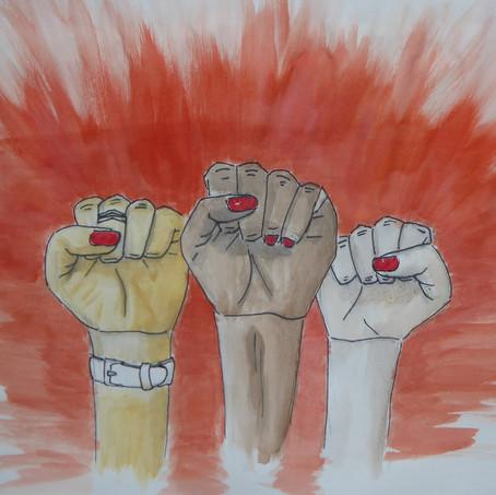 Frauenrechte sind Menschenrechte und Menschenrechte sind Frauenrechte!