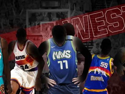 NBA Jerseys- Atto II: Western Conference