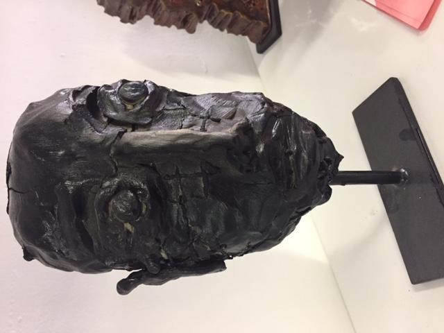 """Sculpture """"Le prisonnier"""""""