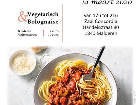 Spaghettifestijn - 14/03/2020