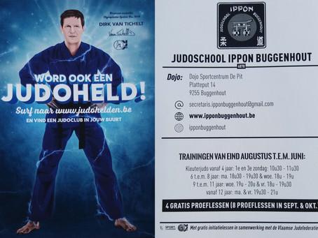 Kennis maken met judo bij JS Ippon Buggenhout