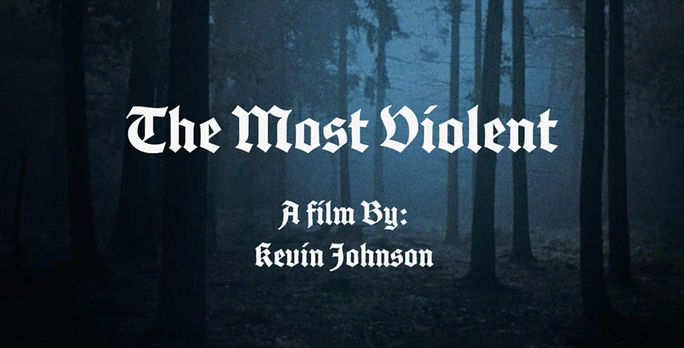 The Most Violent Poster