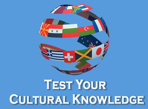 Cultural Knowledge Quiz