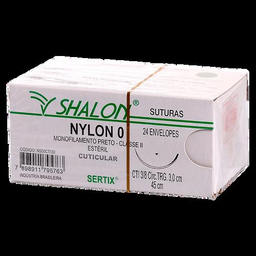 NYLON 0 PRETO C/AG.3 CTI SHALON (C/24)