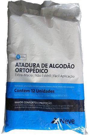 ALGODÃO ORTOPÉDICO NEVE 20cm x 1,0m C/12