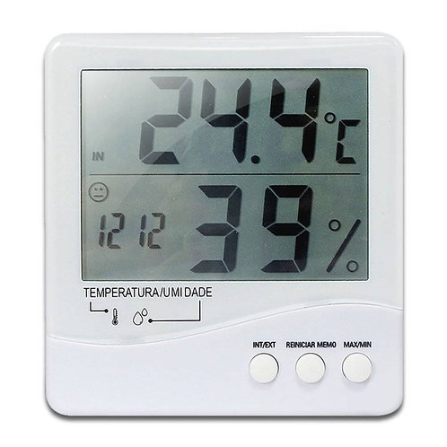 TERMO HIGRÔMETRO INCOTERM DIG.-50+70 MAX/MIN (7663.02.0.00)