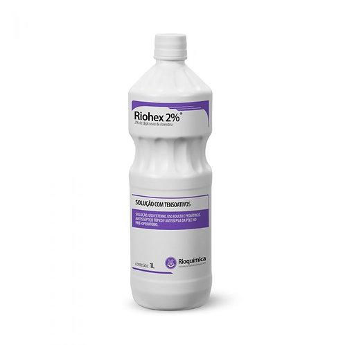 RIOHEX 2% DEGERMANTE 1000ml RIOQUIMICA (CLOREXIDINA)