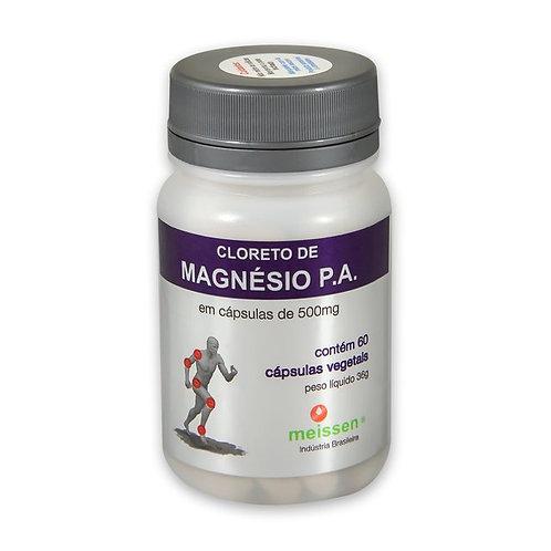 CLORETO DE MAGNESIO MEISSEN POTE C/60 CAPSULAS (P.A)