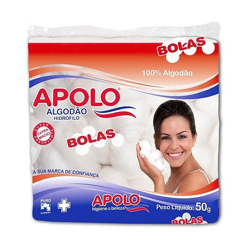 ALGODÃO BOLA  50G APOLO