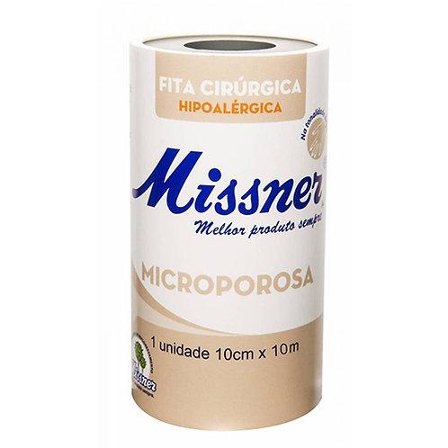 FITA MICROPOROSA MISSNER BEGE 100mm x 10mts
