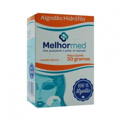 ALGODÃO HIDROFILO  50G MELHORMED