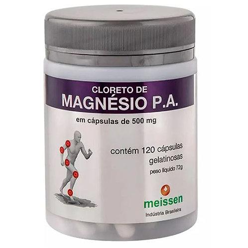 CLORETO DE MAGNESIO MEISSEN POTE C/120 CAPSULAS (P.A)