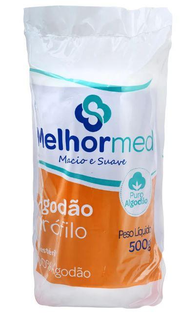 ALGODAO HIDROFILO 500G MELHORMED