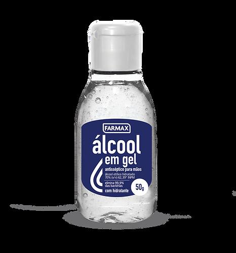 ÁLCOOL GEL 50g FARMAX ANTI-SÉPTICO 70%