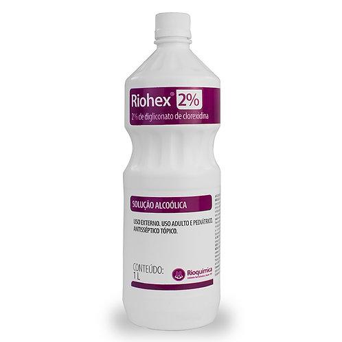 RIOHEX 2% ALC.1000ml (CLOREXIDINA) - RIOQUIMICA