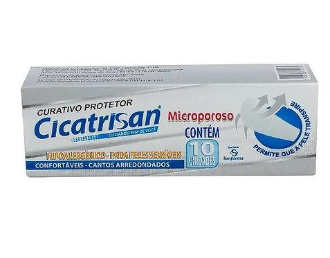 CURATIVO ANTISSÉPTICOS MICROPOROSO CICATRISAN C/10
