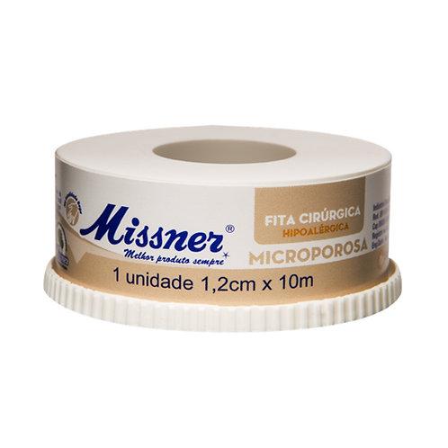 FITA MICROPOROSA MISSNER BEGE  12mm x 10mts