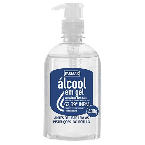 ÁLCOOL GEL  430g FARMAX ANTI-SÉPTICO 70%