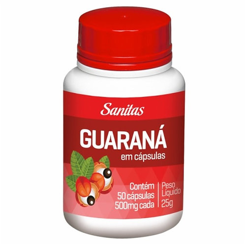 GUARANÁ AMAZONAS CAPSULAS C/50 - LIFAR