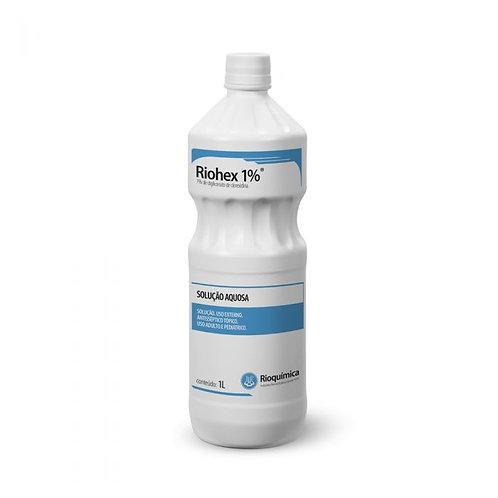 RIOHEX 1% AQUOSO 1000ml RIOQUIMICA (CLOREXIDINA)