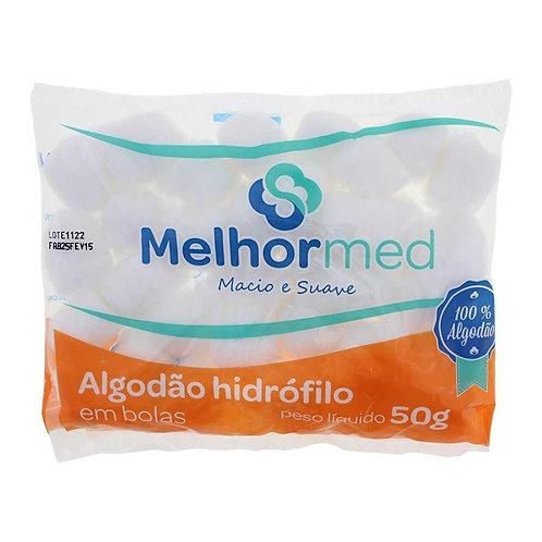 ALGODÃO BOLA  50G MELHORMED