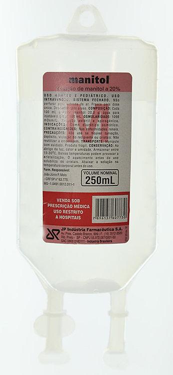 MANITOL 20% FRASCO 250ML JP (SISTEMA FECHADO)