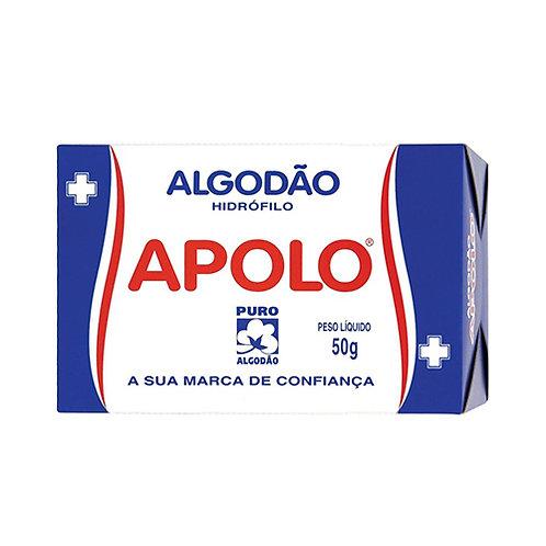 ALGODÃO HIDROFILO  50G APOLO (20=1KG)