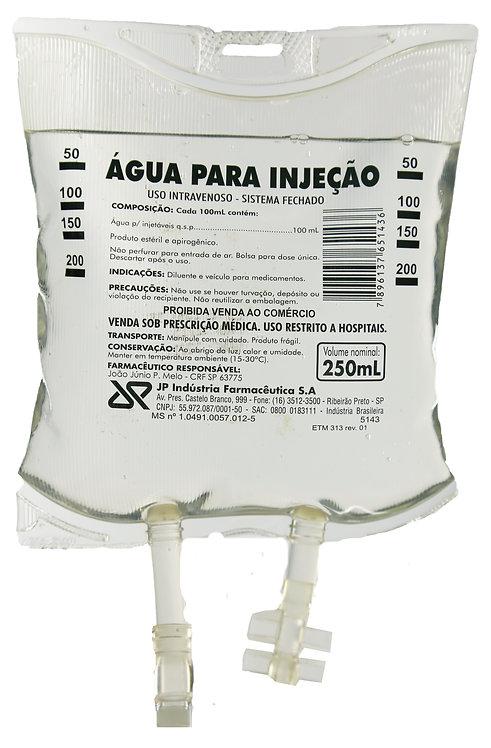 ÁGUA PARA INJEÇÃO BOLSA  250ml JP