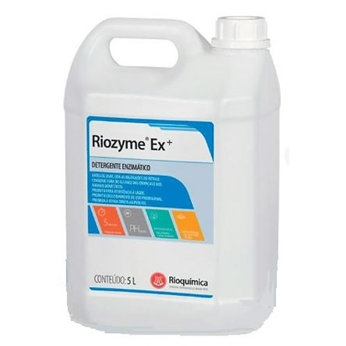 RIOZYME EX+ 5000ml (DETERGENTE ENZIMATICO) - RIOQUIMICA