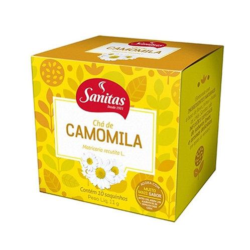 CHÁ CAMOMILA SANITAS 11g C/10 - LIFAR
