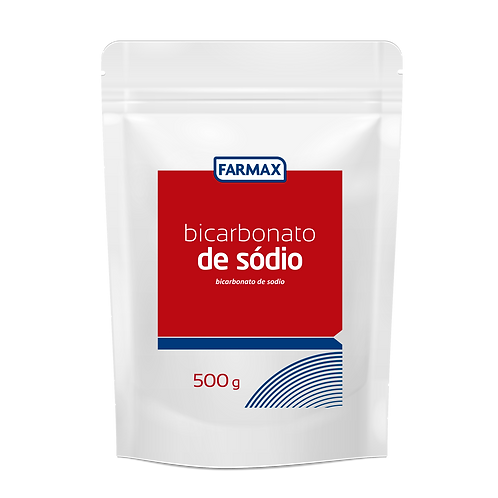 BICARBONATO DE SÓDIO 500g FARMAX