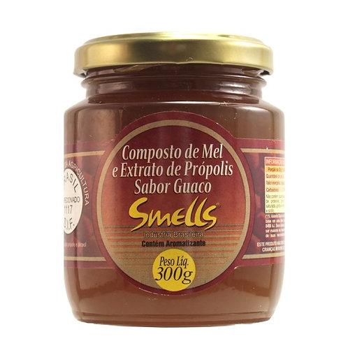 SMELLS MEL 300g C/PRÓPOLIS E GUACO