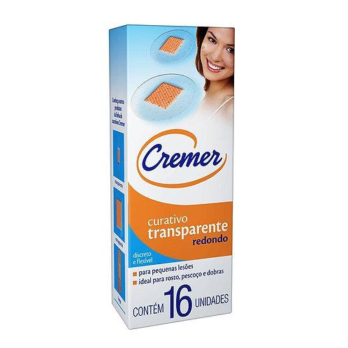 CURATIVO CREMER REDONDO TRANSP. C/16
