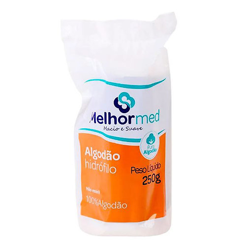 ALGODÃO HIDROFILO 250G MELHORMED