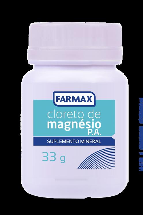 CLORETO DE MAGNESIO FARMAX POTE 33g (P.A)