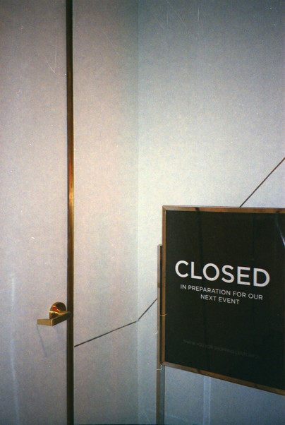 Closed In Preparation For Our Next Event