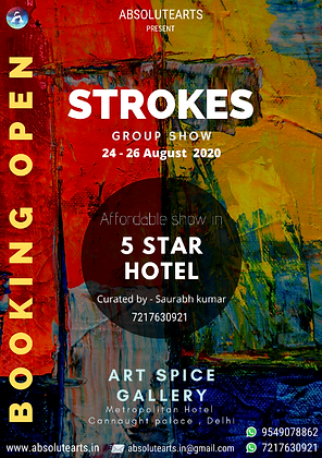 Strokes - Group Show