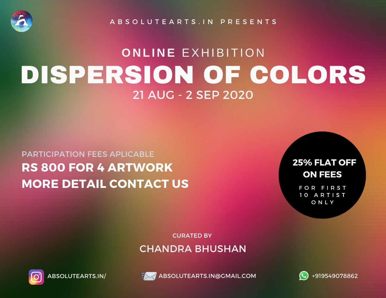 DISPESION OF COLOR
