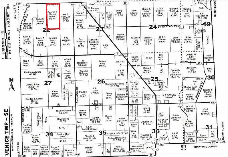 5/21/13 Seneca County, OH Auction Sale $657,000