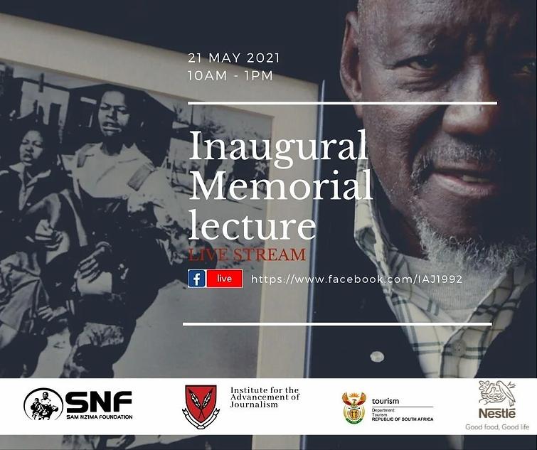 Sam Nzima Inaugural Memorial LectureLive