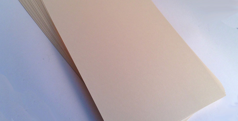 30 Sheets of Super Smooth Ivory Card Stock