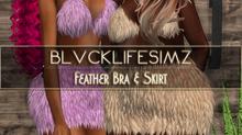 BLS :: Feather Bra & Skirt