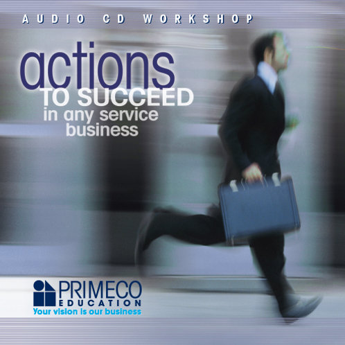 Actions to Succeed in Any Service Business - CD
