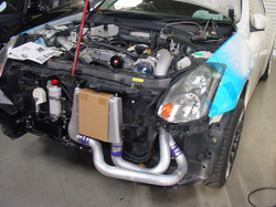 Turbo supercharger Setting