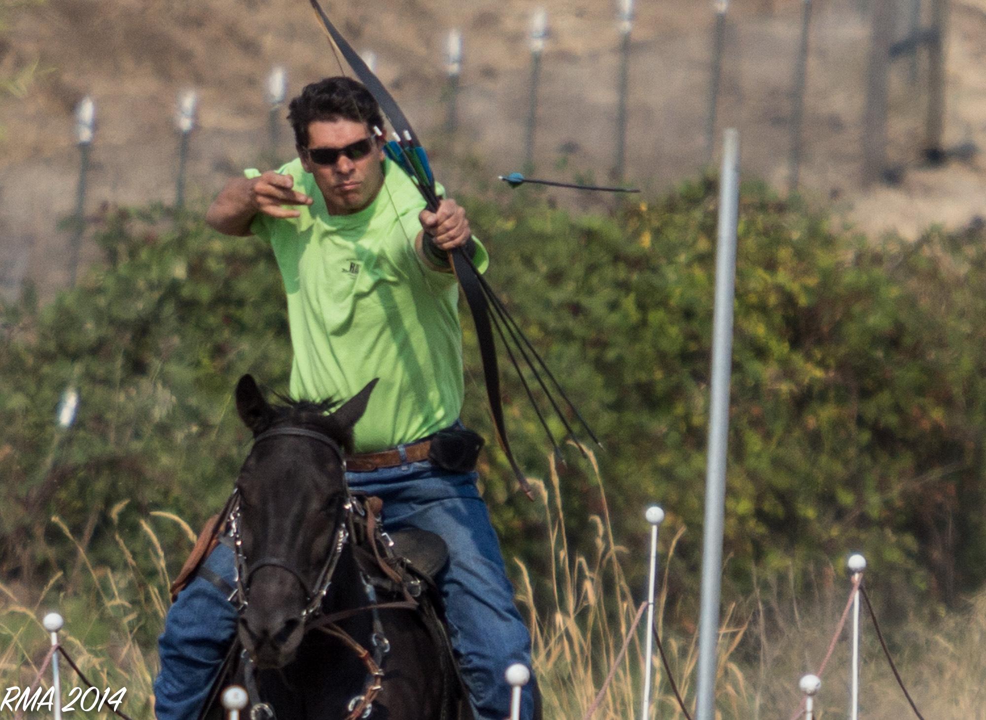 Horseback Archery Darran Wardle