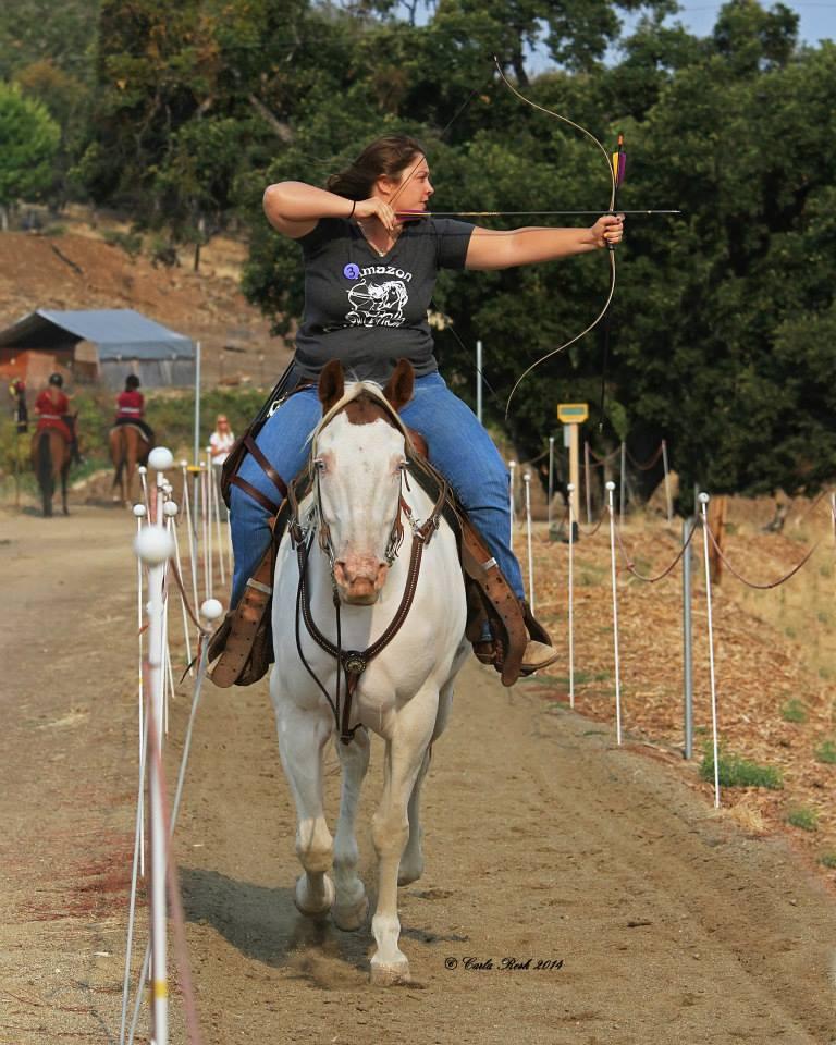 Horse Archer Danna Pfaff